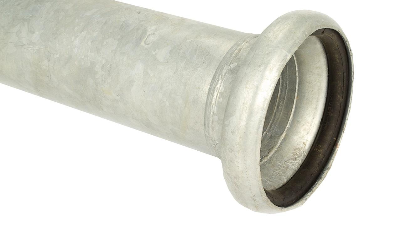 Bauer Rohre verzinkt