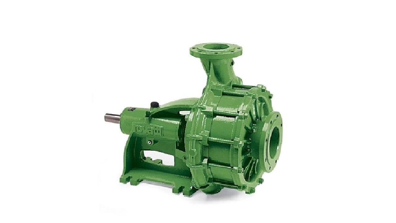 Mehrstufige horizontale Pumpe